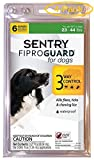 Sentry FiproGuard for Dogs Dogs 23-44 lbs (6 Doses) - Pack of 4