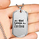 Zuchon - Luxury Dog Tag Necklace Lover Owner Mom Birthday Gifts Jewelry 7