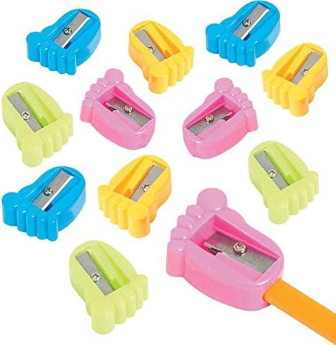 Kidsco Plastic Feet Pencil Sharpeners product image