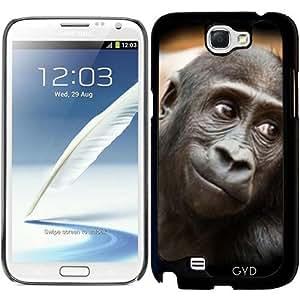Funda para Samsung Galaxy Note 2 (GT-N7100) - Sonriente Bebé Gorila by More colors in life