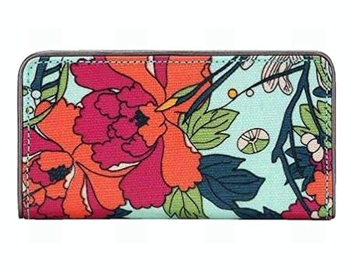 Sakroots Artist Circle Slim Wallet, Seafoam Flower for sale  Delivered anywhere in USA
