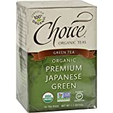 Choice Organic Premium Japanese Green Tea, 16-Count Box (Pack of 6)
