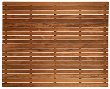 Teak Shower/Bath Mat (36u0026quot; ...