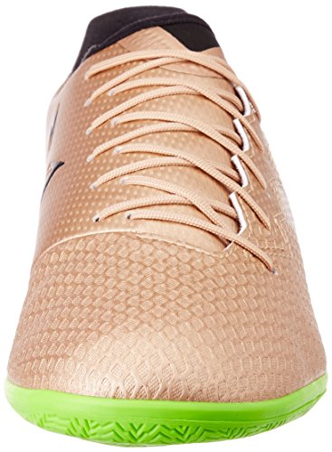 Adidas messi 16.3 in – Chaussures de Foot ligne Messi pour Homme, bronze – (cobmet/negbas/versol) 42