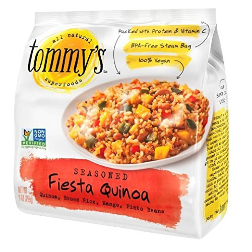TOMMYS Seasoned Fiesta Quinoa, 9 Ounce (Pack of 12) by TOMMYS