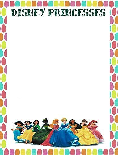 - Disney Princesses Stationery Printer Paper 26 Sheets
