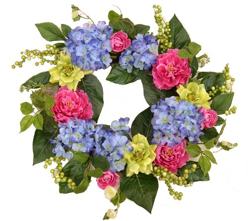 - Hydrangea Peony Wreath WR4989