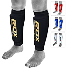 RDX MMA Shin Foam Pads Support Boxing Leg Guards Protector Kickboxing Muay Thai