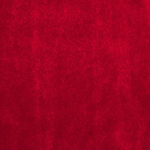 Alpine Upholstery Velvet Red Fabric By The Yard