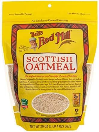 Oatmeal: Bob's Red Mill Scottish Oatmeal Organic
