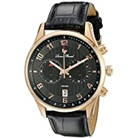 Lucien Piccard Men's LP-11187-RG-01 Navona Rose Gold-Tone Stainless Steel Watch