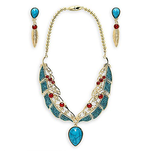 [Disney Pocahontas Jewelry Set] (Pocahontas Costume Accessories)