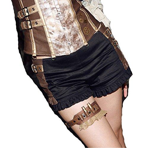 Steampunk Cosplay Leg Straps