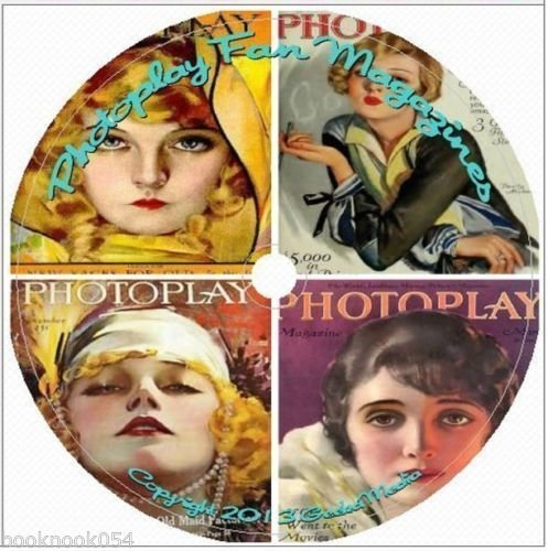 Photoplay Fan Magazine Collection: 370 Vintage Issues From 1914-1942 M110 ()