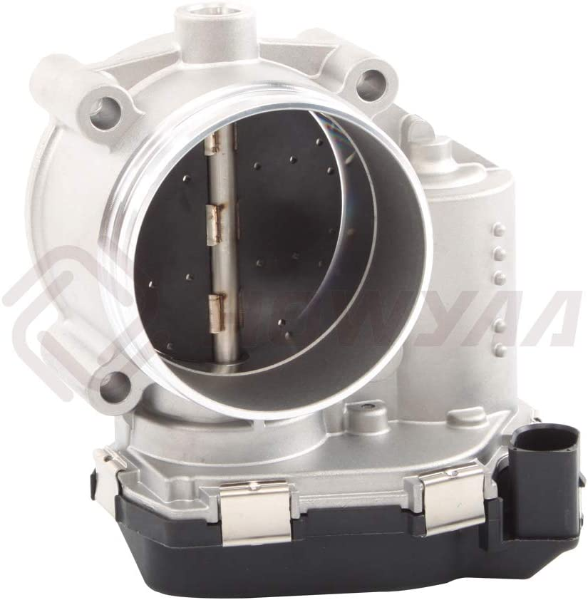 HOWYAA 06E 133 062H Professional Electronic Throttle Body Assembly Applicable to 2008-2017 A4 Quattro A5 Quattro 2.5L 2.8L 3.2L