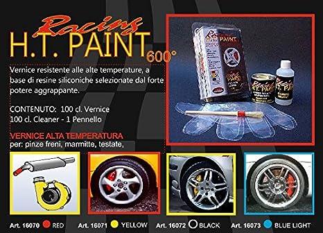 Quatroerre 16072 - Pintura para pinzas de freno, silenciadores, culatas y monobloques. Resistente a altas temperaturas. Color negro: Amazon.es: Coche y moto