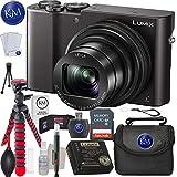 Panasonic Lumix DMC-ZS100 Digital Camera (Black) + 32GB Memory + Essential Photo Bundle