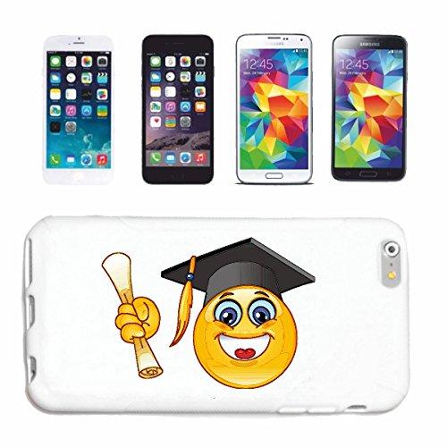 """cas de téléphone iPhone 7S """"SMILEY COMME UN ÉTUDIANT À L'AUDIT DE FIN """"SMILEYS SMILIES ANDROID IPHONE EMOTICONS IOS grin VISAGE EMOTICON APP"""" Hard Case Cover Téléphone Covers Smart Cover pour Apple iP"""