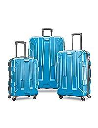Samsonite Centric 3pc Hardside (20/24/28) Luggage Set, Caribbean Blue