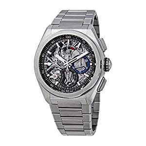 Zenith Defy El Primero 21 Reloj cronógrafo automático para hombre de titanio 95.9000.9004/78.M9000 1