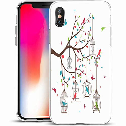 - Ahawoso Custom Phone Case Cover for iPhone X/XS 5.8