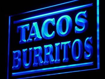 Tacos Burritos Supply Adv LED Sign Night Light j085-b(c)