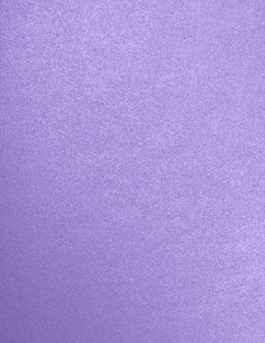 8 1/2 x 11 Paper - Amethyst Metallic (50 Qty) | Perfect for Holiday crafting, invitations, scrapbooking and so much more! | 81211-P-04-50 Envelopes.com