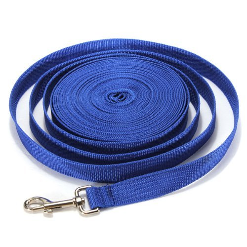 5FT/10FT/20FT/30FT/40FT Long Dog Puppy Pet Puppy Training Obedience Lead Leash recall 3 Color Choice Dog Training Lead Leash