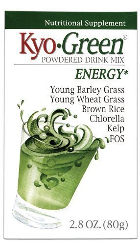 - Kyolic Kyo-Green Energy Powdered Drink Mix -- 10 oz