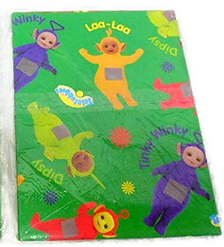Teletubbies Gift Wrap Paper One Sheet 8.33 Sq. Ft Laa-Laa, Tinky Winky, Dipsy, Po Wrapping Party Blue Gift Decoration … ()