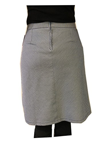 KING LOUIE Damen 02876 Davis Skirt Americana Stripe 417 Palace Blue Rock in Blau Weis Gestreift