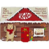 Nestle KITKAT Christmas & Holiday Candy Log Cabin Kit 800 g