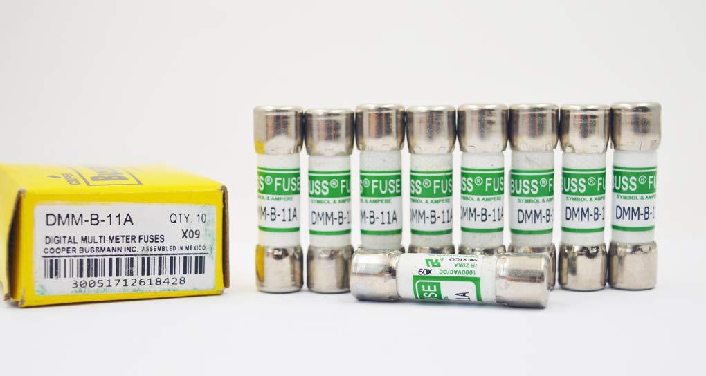 10 Stück Dmm B 11a Dmm 11a Dmm11 11a 1000v Fluke 803293 Digital Multimeter Ersatz Sicherung Gewerbe Industrie Wissenschaft