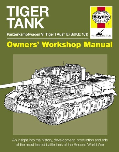 Tiger Tank Manual: Panzerkampfwagen VI Tiger 1 Ausf.E (Sdkfz 181) (Owner's Workshop Manual) by Michael Hayton (2011-06-02)