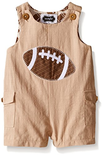 Price comparison product image Mud Pie Baby Football Romper,  Football,  0-6 Months