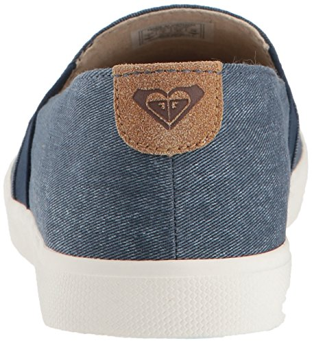 Women's Shoes Fashion Denim On Roxy Sneaker Atlanta Slip dBwCdFIq