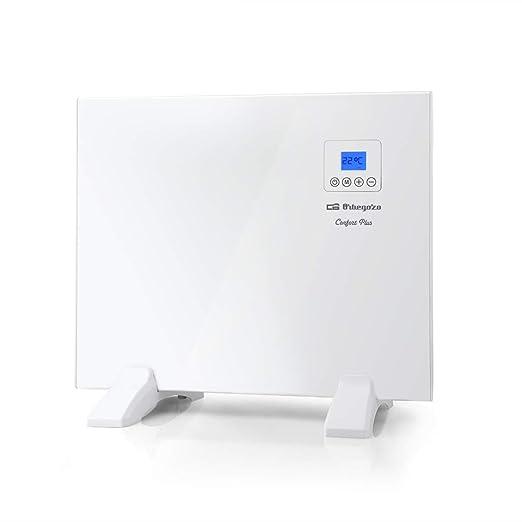 Orbegozo REH 500 Panel Radiante, Mando a Distancia, Pantalla LCD, Control Táctil, Termostato Digital, Programable 24/7, 500 W