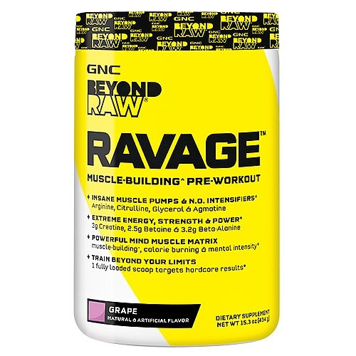 GNC Beyond RAW RAVAGE - Grape