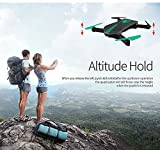 ShopyBucket Drone Foldable Quadcopter Selfie Helicopterr Mini Nano Dron WIFI Drones Can Carry With 720P HD Camera Pocket Drone