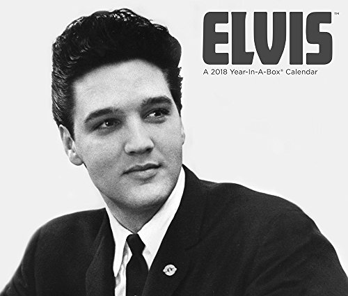 2018 Elvis Presley Calendar (Year-In-A-Box) Elvis Calendar