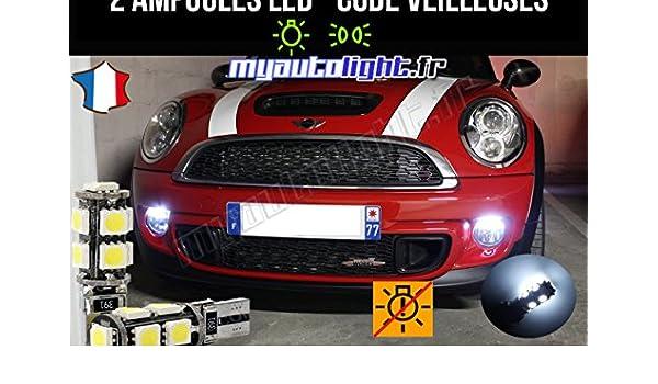 Pack de luces de posición de led blanco Xenón para coche: Amazon.es: Coche y moto