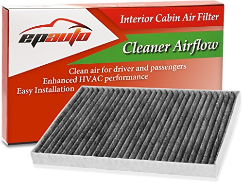 EPAuto CP179 (CF179C) Replacement for Toyota/GMC/Buick/Saturn Premium Cabin Air Filter includes Activated Carbon (Gmc Carbon)