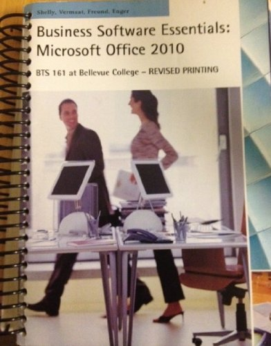 Download Business Software Essentials: Microsoft Office 2010 pdf epub