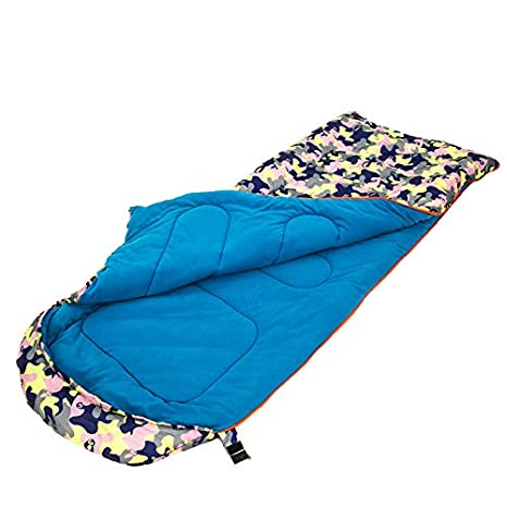 SUHAGN Saco de dormir Piscina Camping Bolsa De Dormir Bolsa De Dormir Adulto Cálidos Interiores Grueso