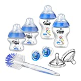 Tommee Tippee Closer To Nature Newborn Bottle Starter Set - Blue (Assorted Model)