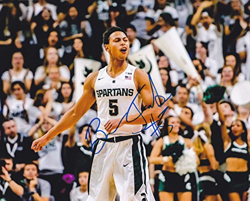 bryn-forbes-autographed-8x10-photo-michigan-state-spartans-basketball