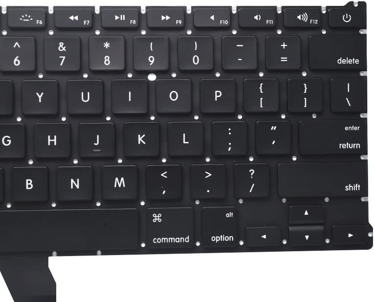 Padarsey New Backlight Backlit Keyboard Compatible for MacBook Air 13-Inch A1369 A1466 MC965LL MC966LL EMC 2559 MD231LL//A MD760LL//A Series 2011 2012 2013 2014 2015 with 80 PCE Screws Screwdriver