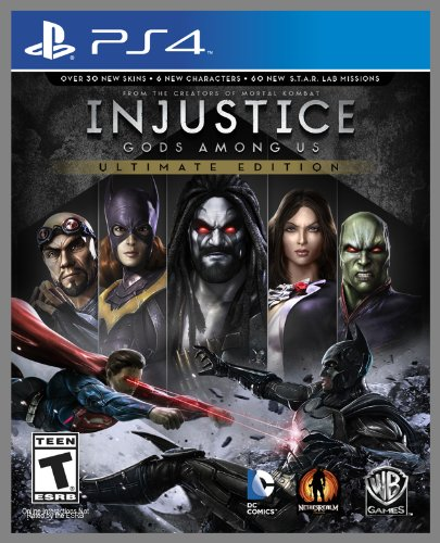 Price comparison product image Injustice: Gods Among Us Ultimate Edition - PS4 [Digital Code]