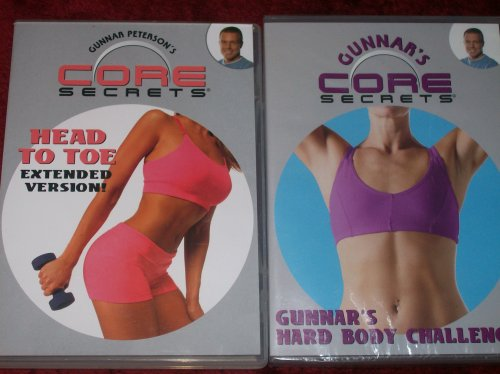 (CORE SECRETS 2 DVD SET + AGILITY LADDER. MAXIMIZE YOUR RESULTS WITH GUNNAR PETERSON!)
