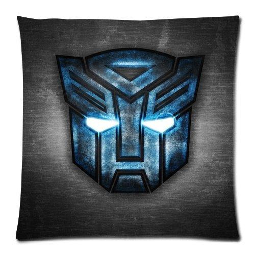 Hierro Robot Face Icon Logo Custom ropa de cama funda de ...